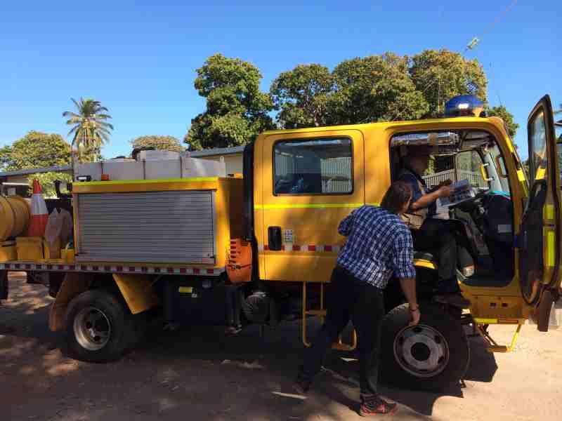 New fire truck for the rural fire service aurukun shire council warren fire truck publicscrutiny Images