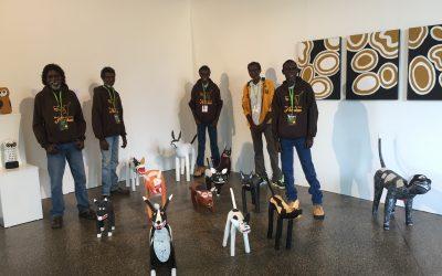 Aurukun camp dog sculptures in demand