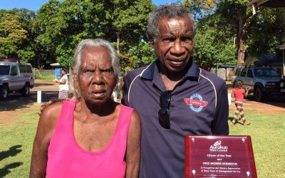 Aurukun's top citizens awarded