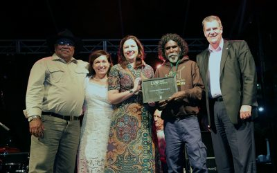 Top Award for Aurukun artist