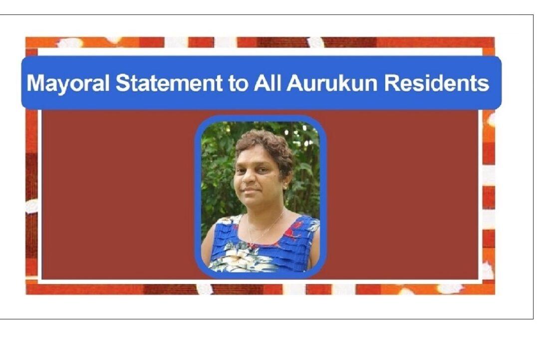 Mayoral Statement – 23 August 2021